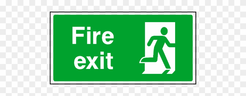 Directional Exit Signs - Exit Only Signs Clipart, HD Png Download - kindpng