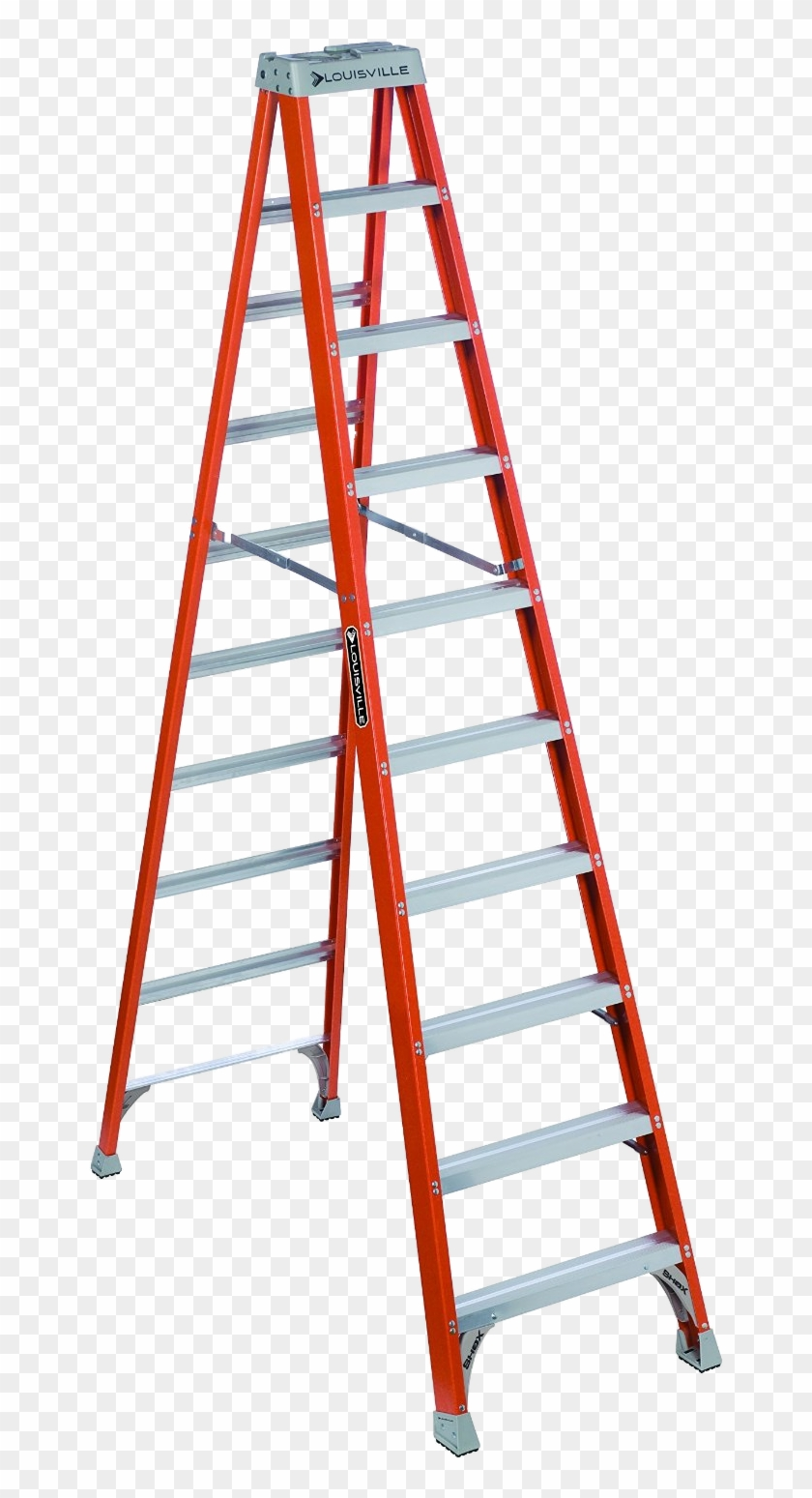 Step Ladder Png - Louisville 10 Ft Ladder #219991
