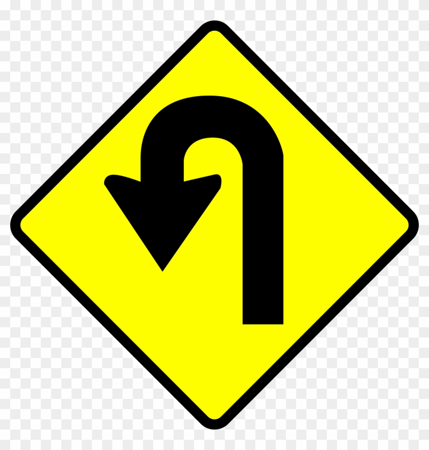 turn around clipart u turn sign clip art free transparent png