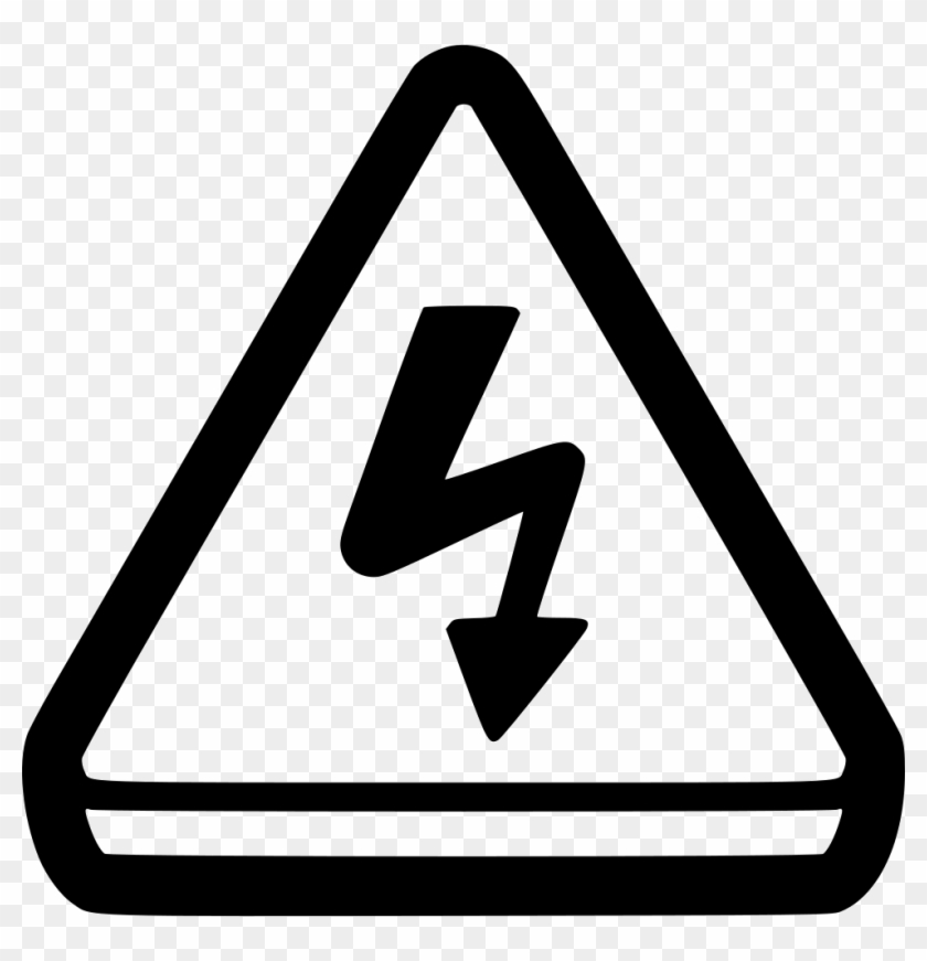 Attention Alert Caution Electricity Shock Comments - Attention Png Icon #220487