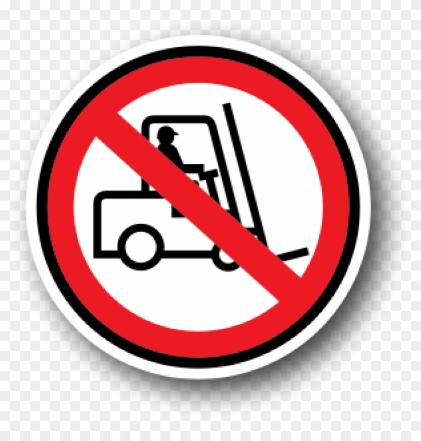 Health And Safety Floor Signs, No Forklifts - Infographics About Healthcare 2017 #220500
