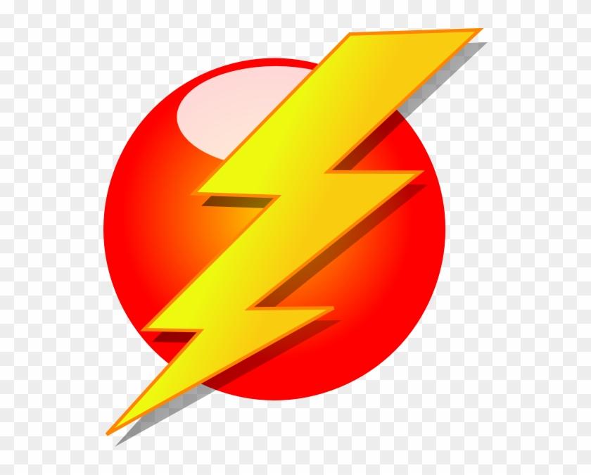 Amped Up Electrical Clip Art At Clker - Lightning Bolt Clipart #220600