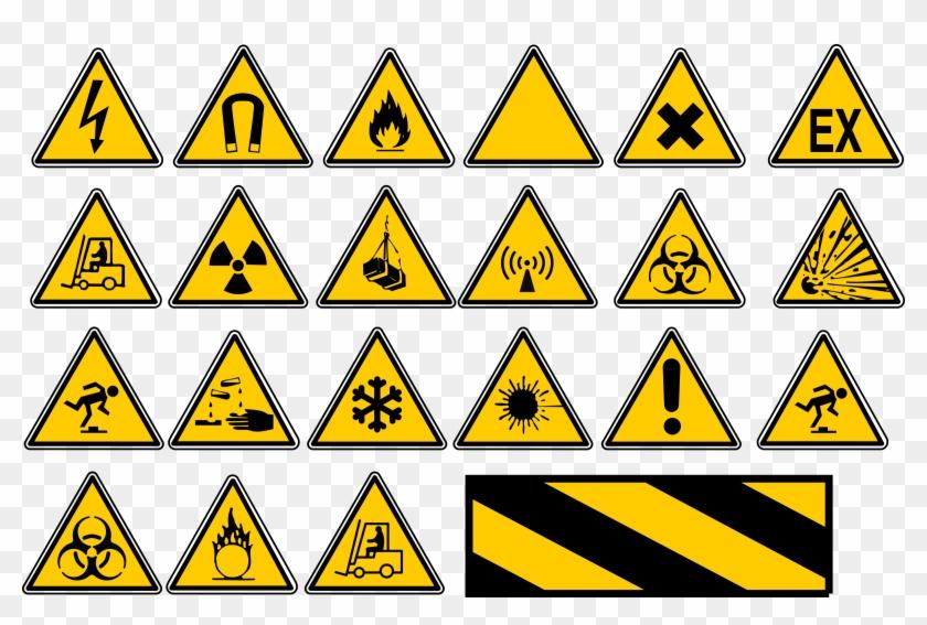 Warning Signs - Warning Corrosive Sign Large Tote Bag, Natural, Large #220650