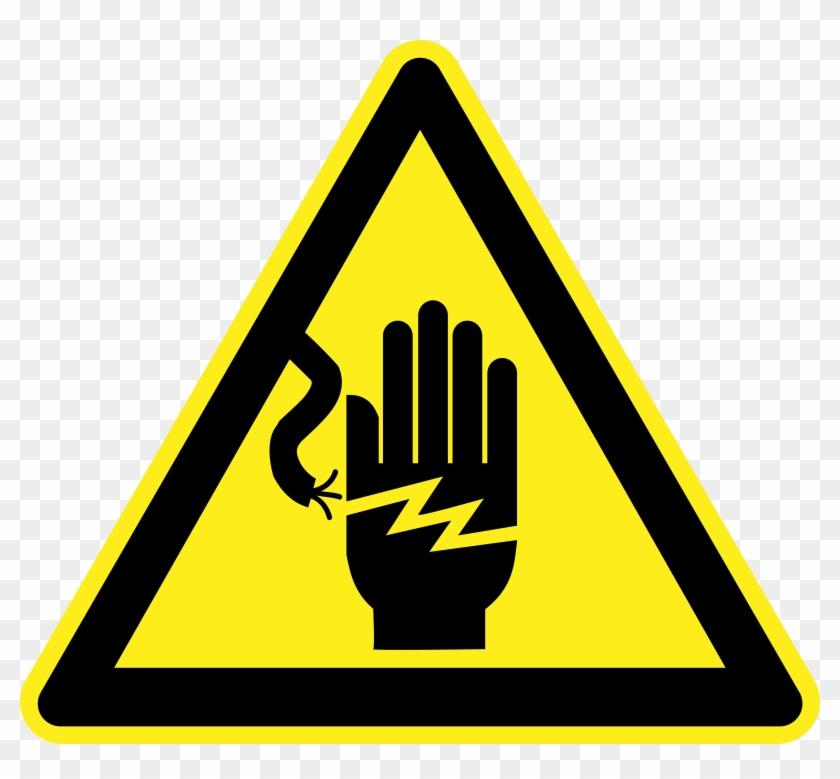 Voltage Hazard Warning Sign - Privacy Clipart #220775
