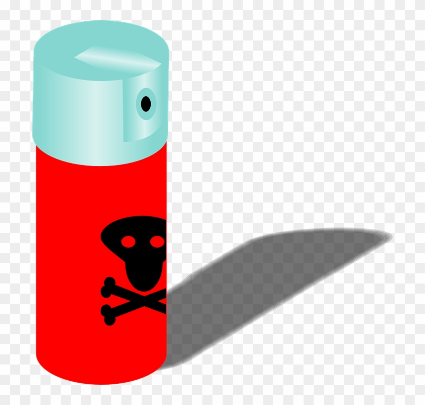 Bug Spray Clipart Png #220786