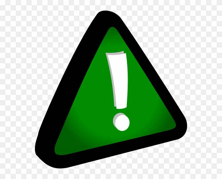 Attention Green Clip Art At Clker - Clipart Attention #220845