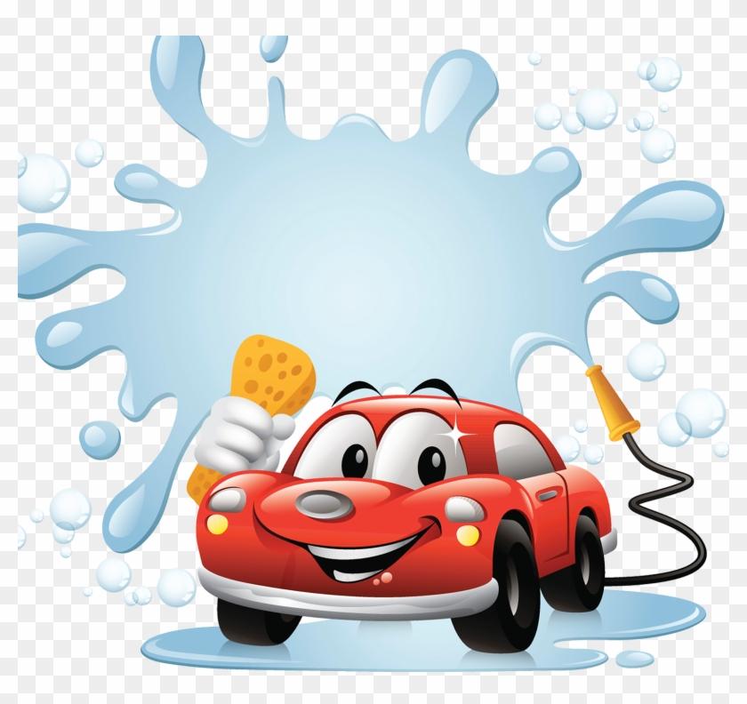 Car Wash Clip Art - Car Wash Clipart Png #220909