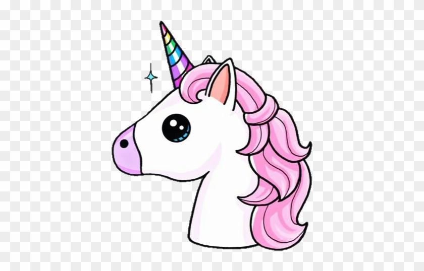 Png Edit Overlay Tumblr Unicorn Unicornio Rainbow - Unicorn Emoji #220979
