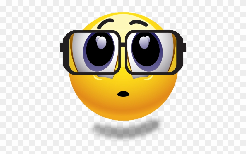 Emoji Transparent Smiley Face Emoji With No Background - Smiley Face With Glasses #221043