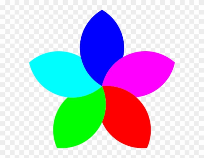 5 Petal Flower Clipart - Football Heart 6 Petal Flower Clipart Jpg #221135