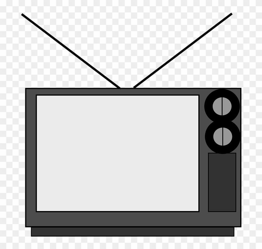 Screen Clipart Transparent Tv - Old Television Clipart #221162