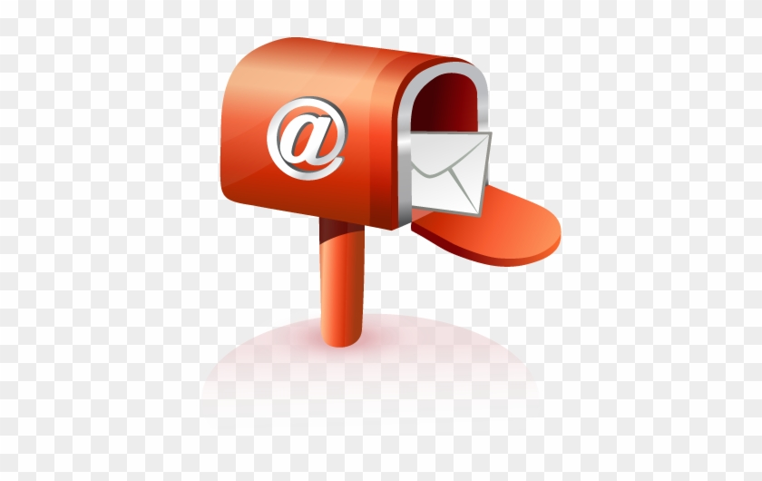 Mailbox Icon Myiconfinder - Email Icon 3d Png #221228