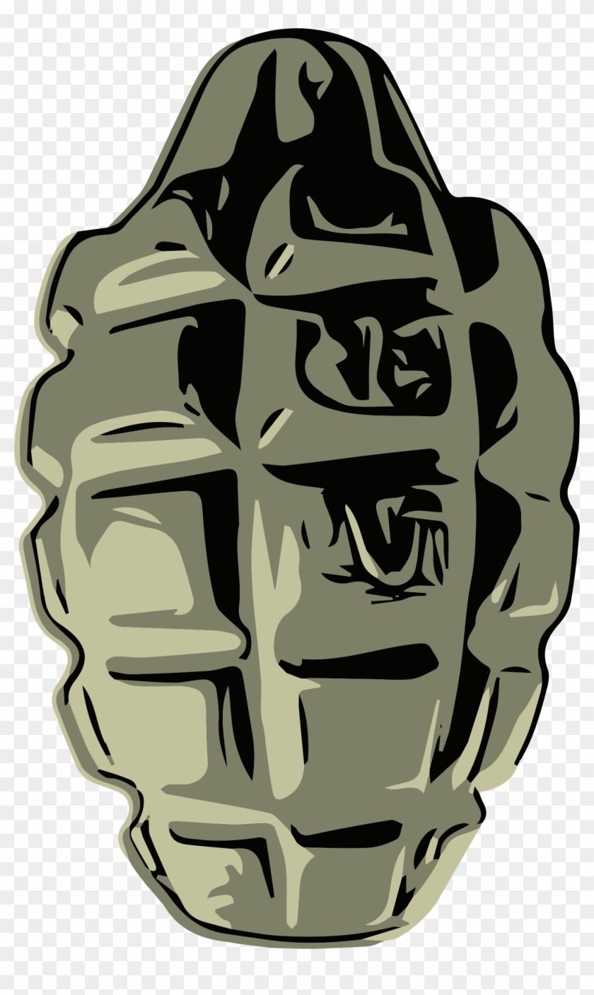 Hand Grenade Png Image - F1 Grenade Clipart - Free Transparent PNG