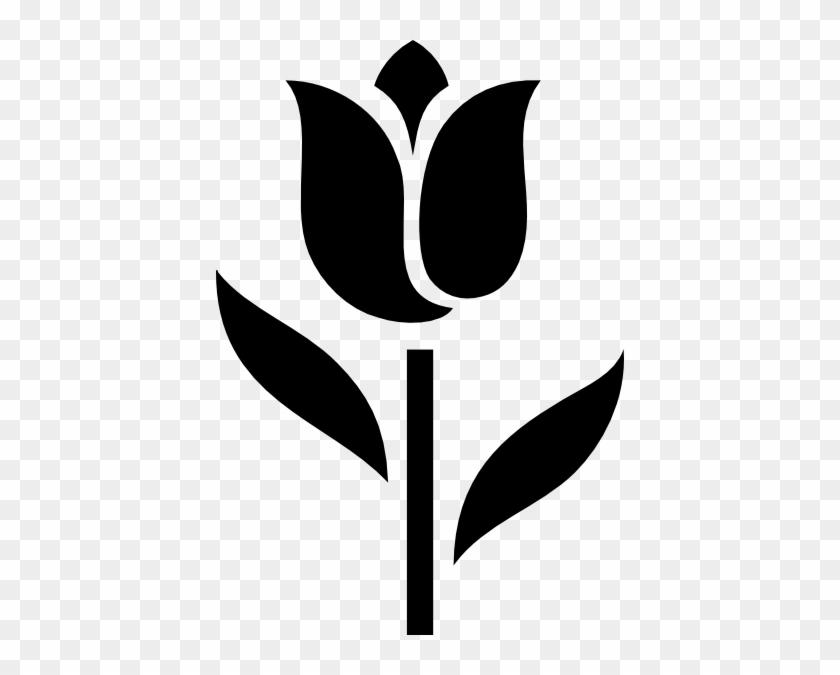 Tulip Clip Art Clipart 4 Image - Tulip Icon #221276