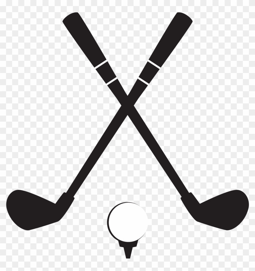 Golf Club Golf Ball Clip Art - Golf Club And Ball Clipart #221394