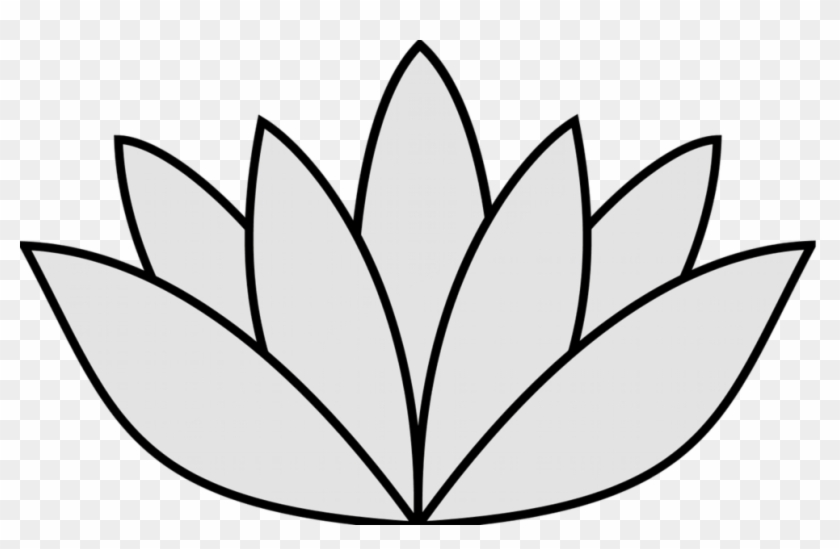 Elegant Image Of Easy To Draw Flowers Easy Drawings Lotus Flower