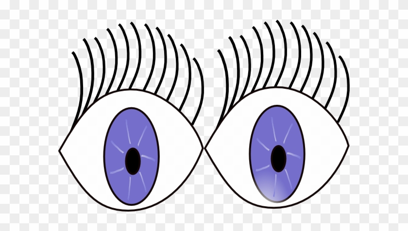 Eyes Clip Art At Clker - Eyes Wide Open Cartoon #221941