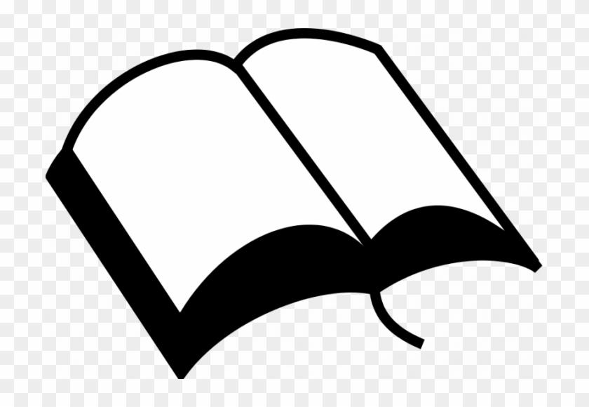 Vector Graphics Of Open Book - Open Bible Clip Art #222083