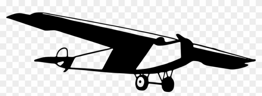 Public Domain Mark - Vintage Airplane Clipart Png - Free