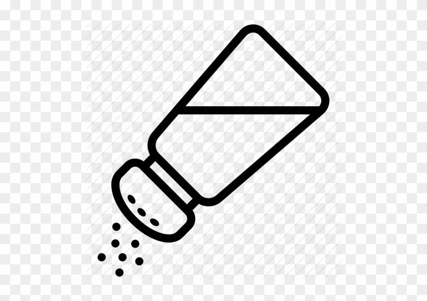 Salt Shaker Line Drawing #1411566