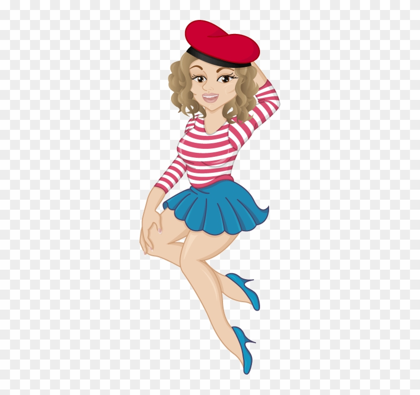 Picture Royalty Free Drawing At Getdrawings Com Free - French Girl Drawing Png #1412404