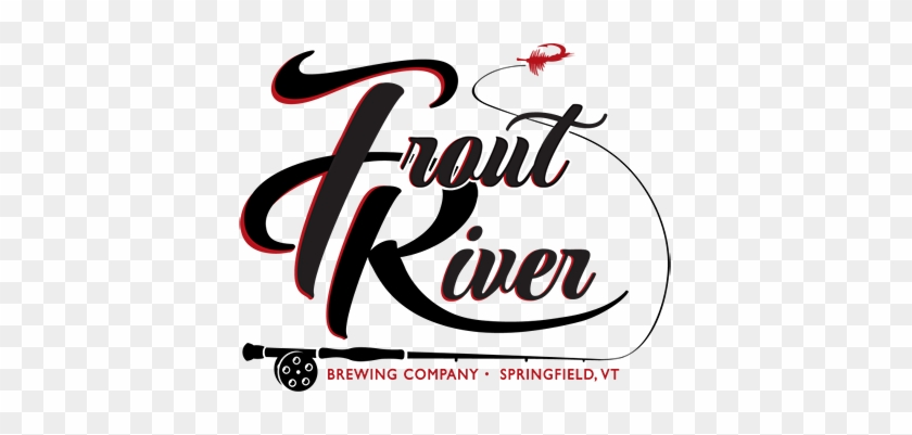 Trout River Brewing Logo - Trout River Brewing Logo #1413625