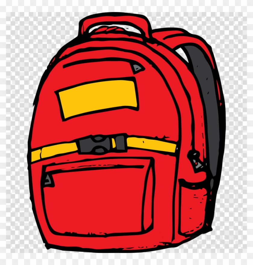 Download Red School Bag Clipart Backpack Clip Art Backpack - Purple School Bag Clipart #1414675