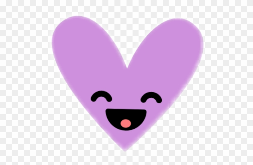 Happy Laugh Smile Shape Heart Purple Purpleheart Instag