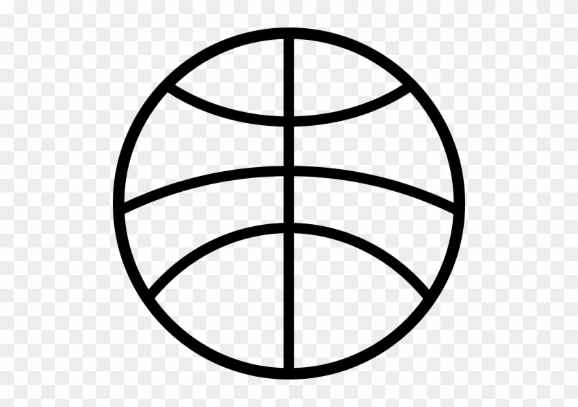 Clip Library Library Basketball Lines Clipart - Basketball Lines On Ball #1415468