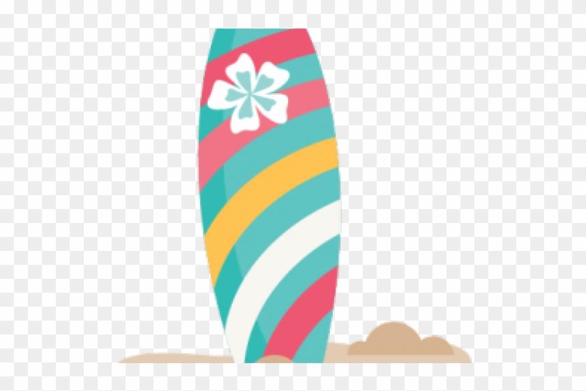 Surf Board Clipart - Transparent Surfboard Png #1415983