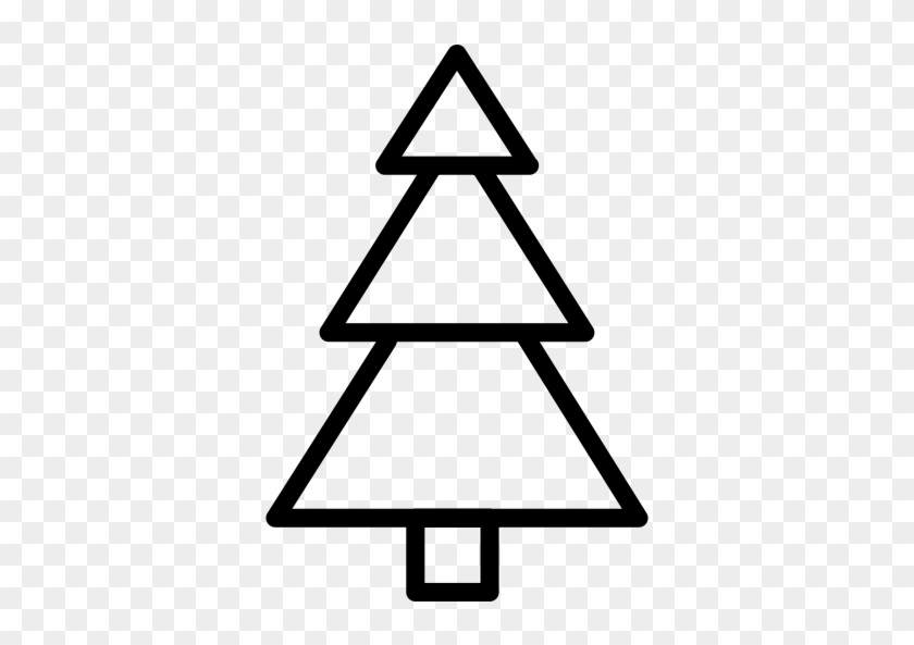 Art Gallery - Christmas Tree Outline Png #1416037