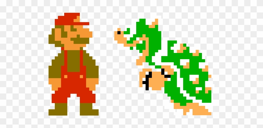 Boulder Vector 8 Bit Clip Art Freeuse Stock - Super Mario