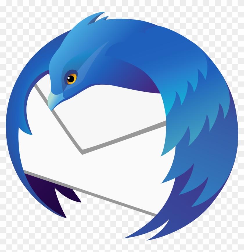 Mozilla Thunderbird Wikip U00e9dia Photo Clip Art Free - Mozilla Thunderbird Logo #1416878