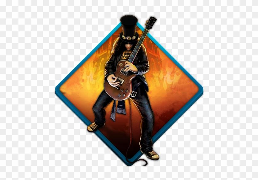 Format - Png - Guns N Roses Slash Guitar Hero #1417233