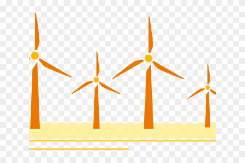 Wind Turbine Clipart Solar Wind Energy - Wind Turbine #1417239