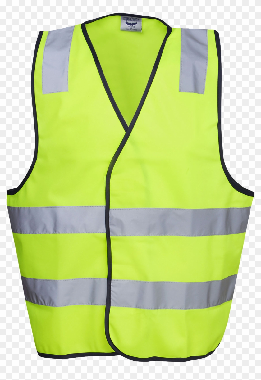 Pink Hi-viz Safety Day/night Vest - Safety Vest Front And Back #1417972