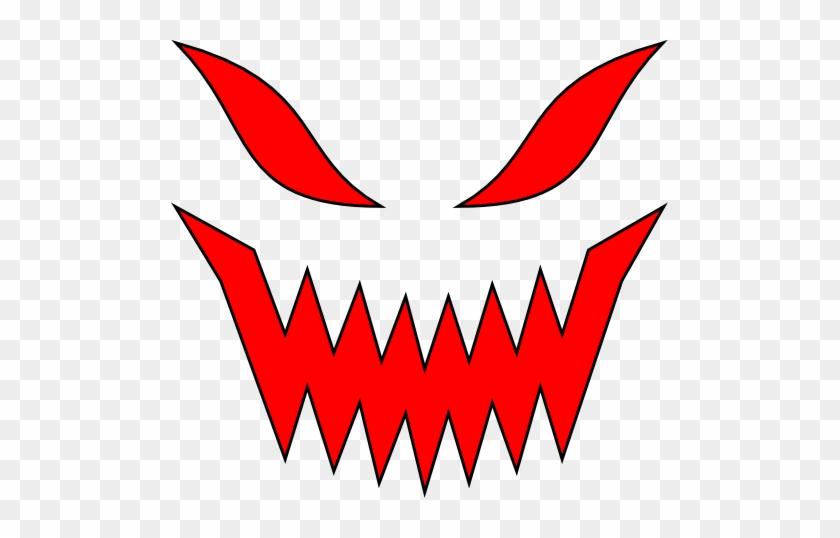 Evil Transparent Mouth - Evil Png #1418254