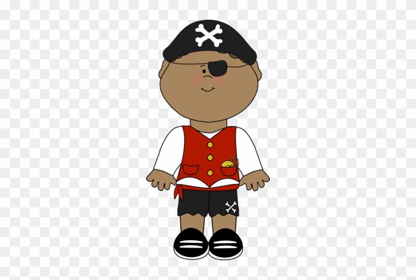 Cute Pirate - Boy Clipart Halloween #1418330