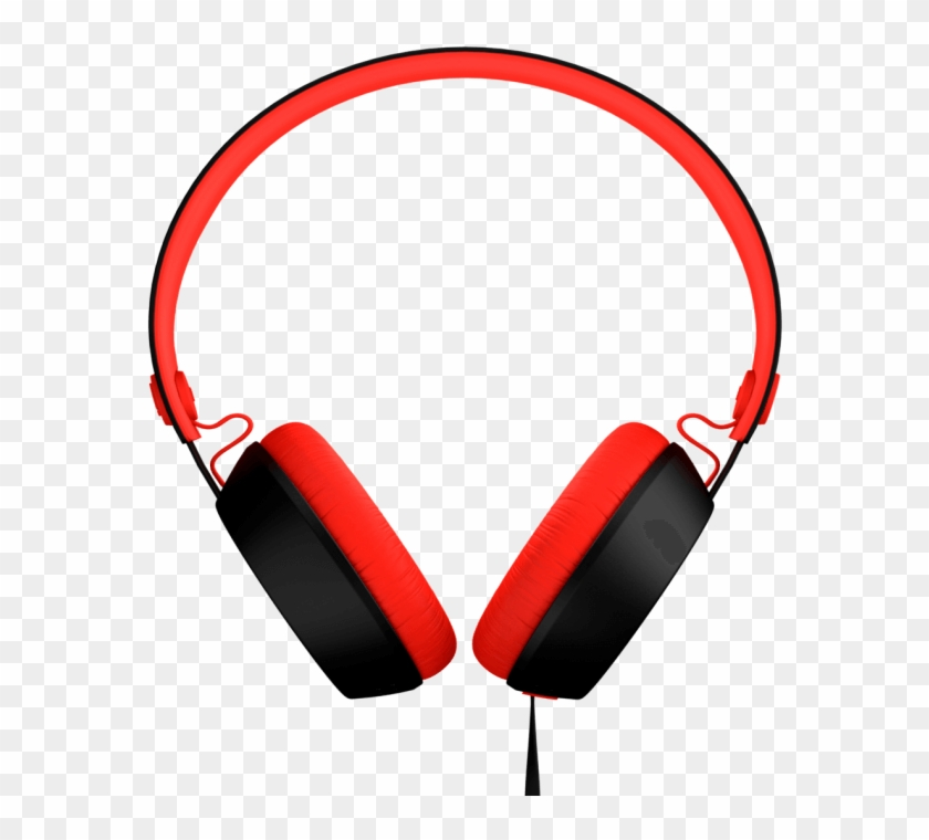 Headphones Clipart Work - Coloud Boom On Ear Headphones Black Red - Free  Transparent PNG Clipart Images Download