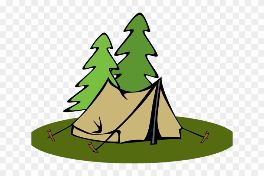 Tent Clipart Pyramid Tent - Camping Tent Clipart #1419728
