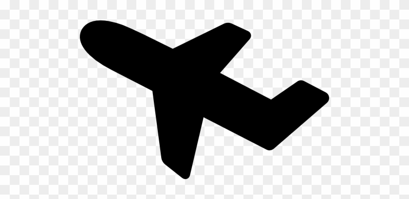 Aeroplane Taking Off Vector - Flat Icon Old Airplane #1420871