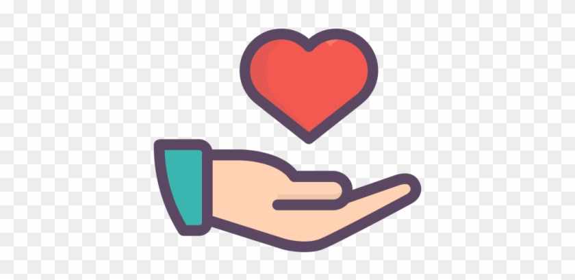 Give Free Transparent Image Hd - Giving Hand Icon Png #1422029