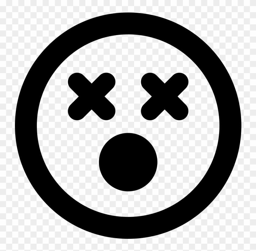 Font Awesome 5 Regular Dizzy - Copyright Logo Png #1422392