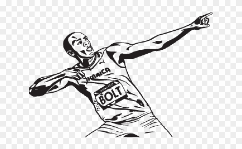 21+ Usain Bolt Cartoon Png Pictures
