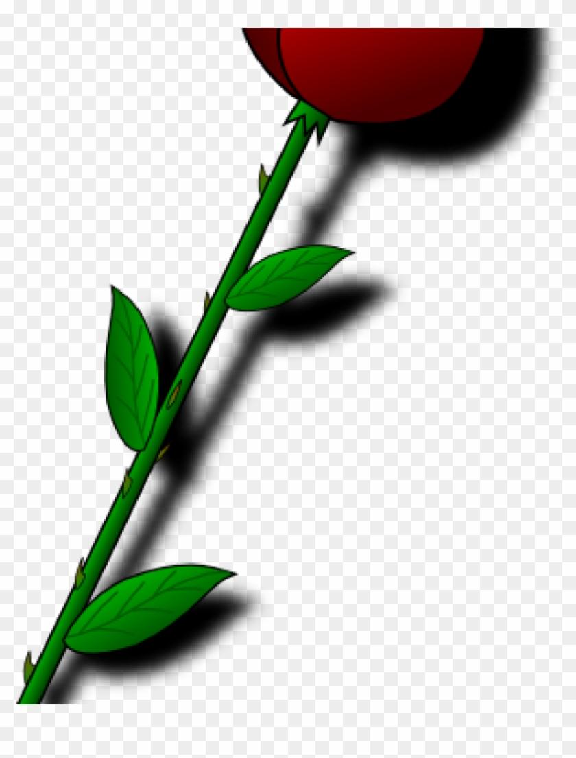 Single Rose Clipart Single Red Rose Clipart Free Clip Ram Ram Ji