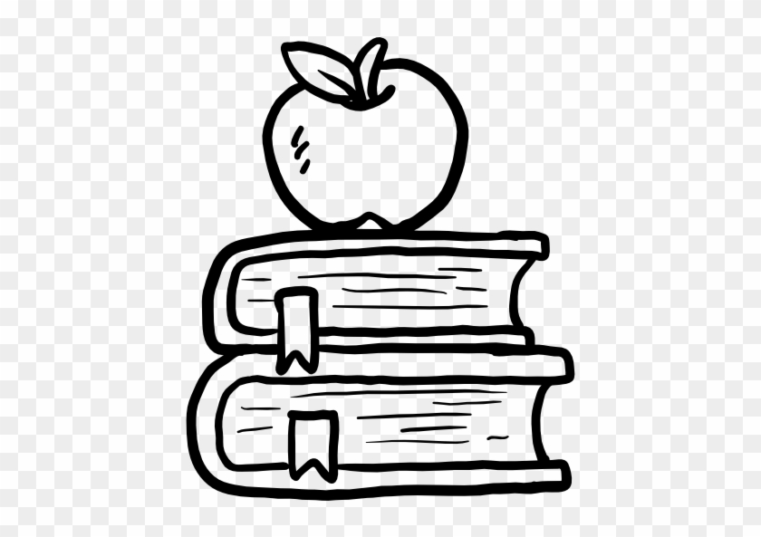 Jpg Library Stock Library Education Reading Study - School Books Png Black And White #1423168