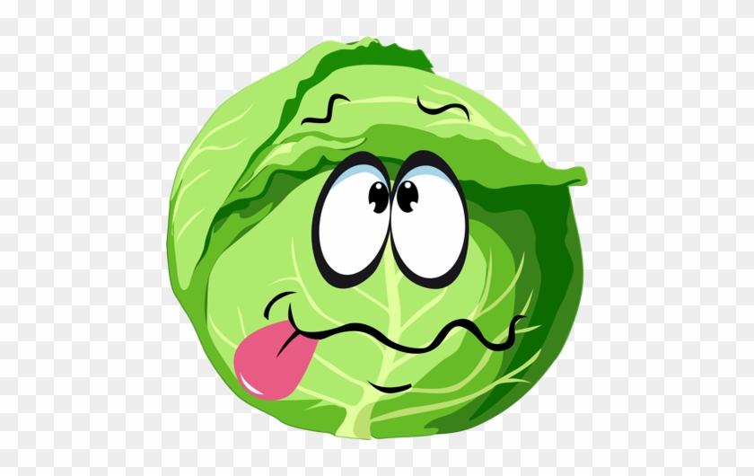 Смешные рисунки капусты