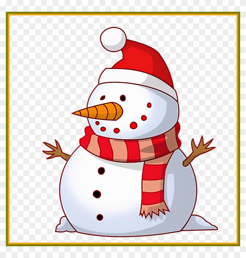 Memory Clipart Concept - Merry Christmas Snowman Clipart #1423596