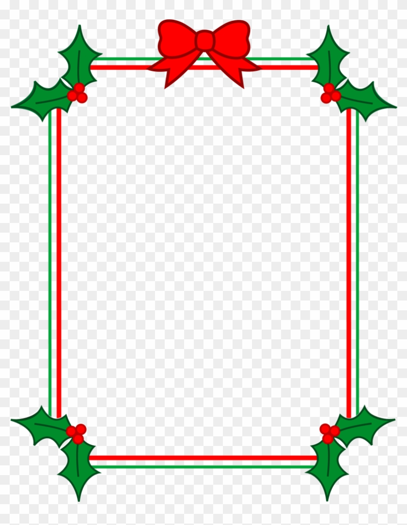 Jpg Transparent Holiday Clip Art Free Borders Mysummerjpg - New Page Border Word #1425224