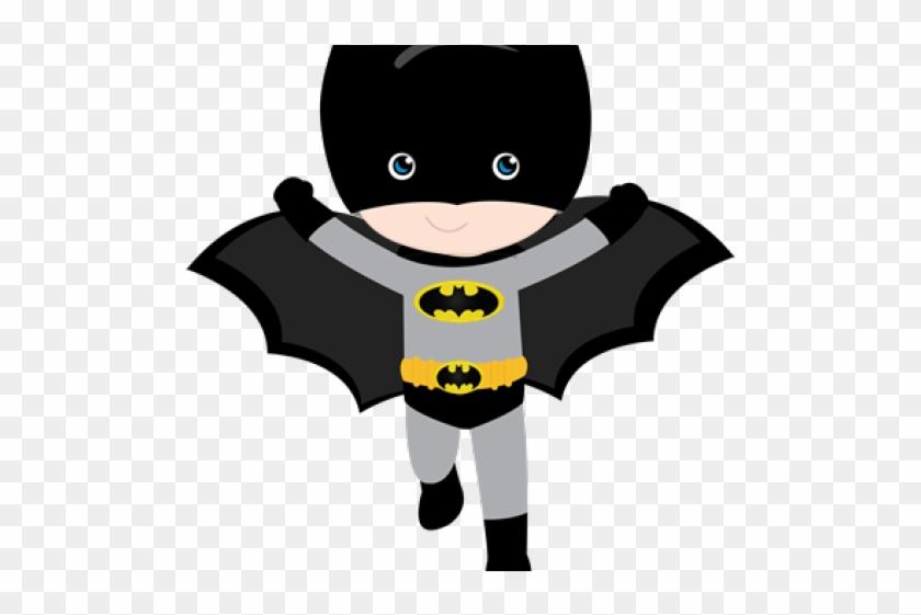 Batman Clipart Cute Baby - Topo De Bolo Batman #1425500